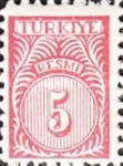 [Numeral Stamps - New Colors, Typ E11]