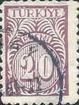 [Numeral Stamps - New Colors, Typ E14]