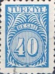 [Numeral Stamps - New Colors, Typ E15]