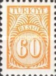 [Numeral Stamps - New Colors, Typ E16]