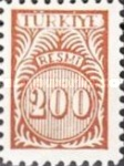 [Numeral Stamps - New Colors, Typ E19]