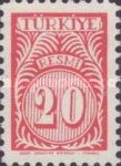 [Numeral Stamps, Typ E3]
