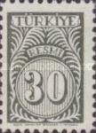 [Numeral Stamps, Typ E4]
