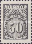 [Numeral Stamps, Typ E6]