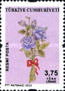 [Official Stamps - Flowers, Typ EF]