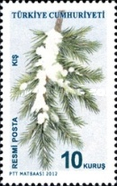 [Official Stamps - Trees, Typ EH]