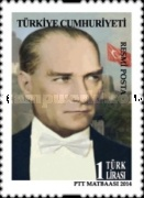 [Official Stamps - Ataturk, Typ EQ]