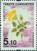 [Official Stamps - Roses, Typ FV]