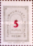 [Official Stamps Surcharged, Typ I5]