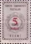 [Official Stamps Surcharged, Typ J9]