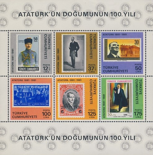 [The 100th Anniversary of the Birth of Kemal Ataturk, Typ ]