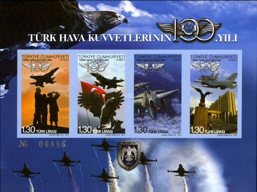 [The 100th Anniversary of the Turkish Air Force, Typ ]