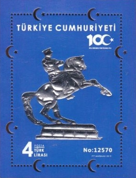 [The 100th Anniversary of the End of the Turkish War of Independence, type ]