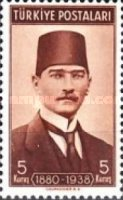 [The 1st Anniversary of the Death of Kemal Ataturk, Typ AGF]