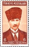 [The 1st Anniversary of the Death of Kemal Ataturk, Typ AGG]