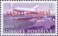 [Airmail Stamps - Industrial Congress, Ankara, type AGS3]