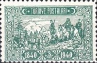 [The 100th Anniversary of the First Adhesive Postage Stamps, type AGT]
