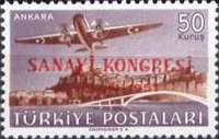 [Airmail Stamps - Industrial Congress, Ankara, type AGT3]