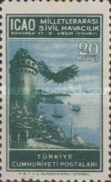 [Airmail Stamps - International Civil Aviation Congress, Istanbul, type AJX]