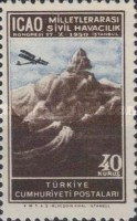 [Airmail Stamps - International Civil Aviation Congress, Istanbul, type AJY]