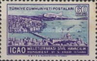 [Airmail Stamps - International Civil Aviation Congress, Istanbul, type AJZ]