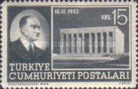 [Transfer of Ashes of Kemal Ataturk to Mausoleum, Typ AMN]