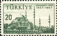 [The 400th Anniversary of the Suleiman Mosque, Istanbul, Typ APV]