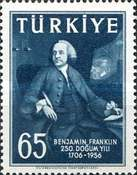 [The 250th Anniversary of the Birth of Benjamin Franklin, Typ AQA1]