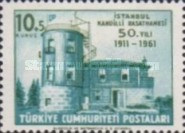 [The 50th Anniversary of the Kandilli Observatory, Istanbul, Typ AWT]