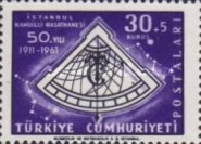 [The 50th Anniversary of the Kandilli Observatory, Istanbul, Typ AWU]