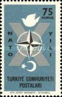[The 10th Anniversary of the Turkish Admission to NATO, Typ AXH]