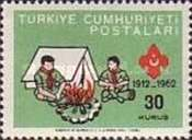 [The 50th Anniversary of the Turkish Scout Movement, Typ AXN]