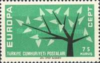 [EUROPA Stamps, Typ AXT]