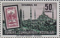 [Istanbul '63 International Stamp Exhibition - Stamps on Stamps, Typ AZB]