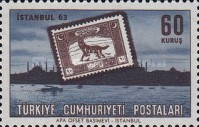 [Istanbul '63 International Stamp Exhibition - Stamps on Stamps, Typ AZC]