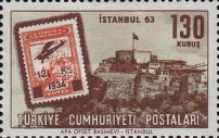 [Istanbul '63 International Stamp Exhibition - Stamps on Stamps, Typ AZE]