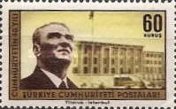 [The 40th Anniversary of the Turkish Republic, Typ AZN]