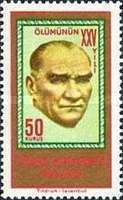 [The 25th Anniversary of the Death of Kemal Ataturk, Typ AZO]