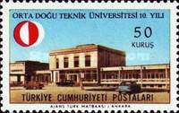 [The 10th Anniversary of the Middle East University of Technology, Typ BDX]