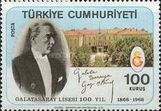 [The 100th Anniversary of the Galatasaray High School, Typ BGO]