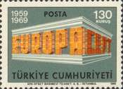 [EUROPA Stamps, Typ BHG1]
