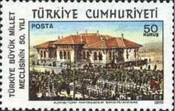 [The 50th Anniversary of the Turkish National Assembly, type BIT]