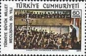 [The 50th Anniversary of the Turkish National Assembly, type BIU]
