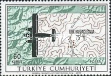 [The 75th Anniversary of the Turkish Cartography, type BIW]