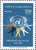 [The 25th Anniversary of United Nations, type BJO]