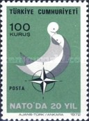 [The 20th Anniversary of the Turkey's Membership of NATO, Typ BLG]