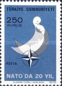 [The 20th Anniversary of the Turkey's Membership of NATO, Typ BLG1]