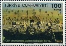 [The 50th Anniversary of the Turkish War of Liberation - Entry into Izmir, Typ BLV]