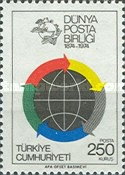 [The 100th Anniversary of the Universal Postal Union, Typ BOD]
