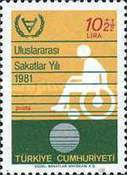[International Year of Disabled Persons, Typ BUW]